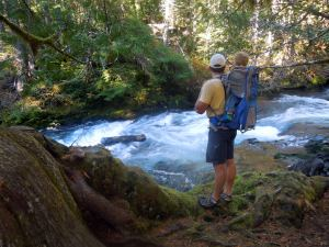 Greg and KJ at Mac River