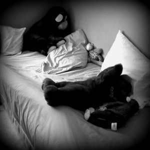 bed time bw