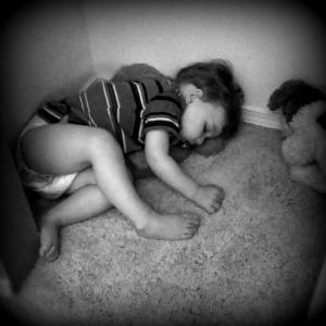 kj sleeping b bw